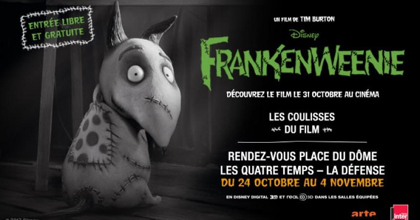 Plongez dans les coulisses du film d'animation Frankenweenie