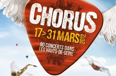 Chorus revient du 17 au 31 mars 2012