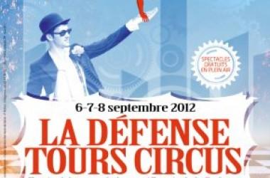 La Défense Tours Circus revient en septembre