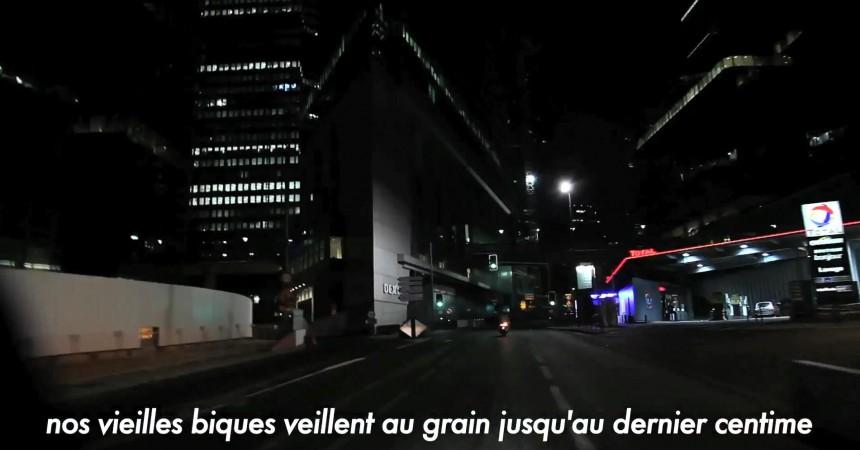 Un clip anti-UMP du 92 tourné avec La Défense comme toile de fond