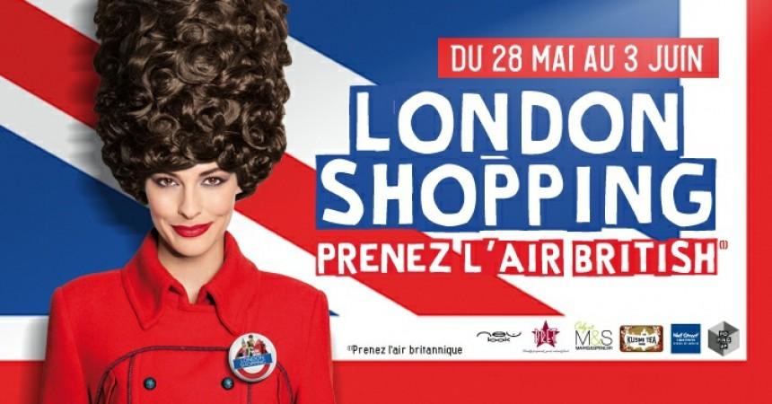 """""""London"""" Shopping"""" une touch so british aux Quatre Temps et au CNIT"""
