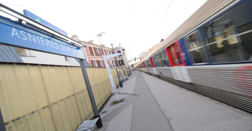 Ils réclament plus de trains entre La Défense et Asnières-sur-Seine