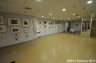 Une galerie d'art à la galerie de l'Esplanade