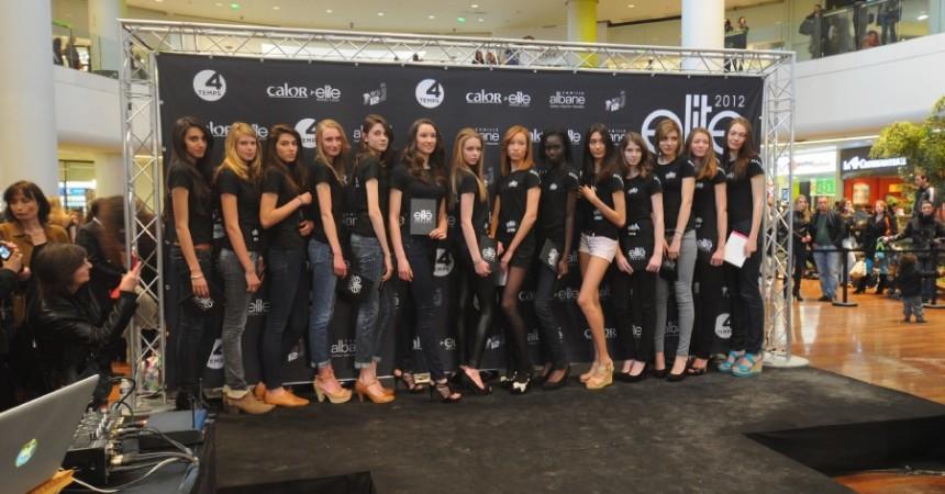 L'agence Elite sélectionne treize filles aux Quatre Temps pour son casting