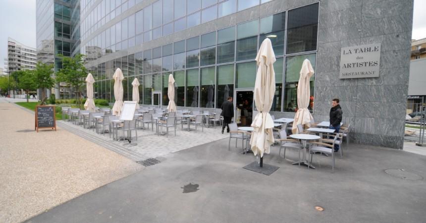 La Table des Artistes, un nouveau restaurant au Faubourg de l'Arche