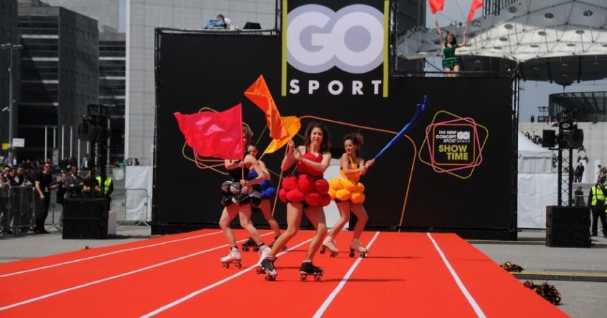 Go Sport fête son nouveau concept store