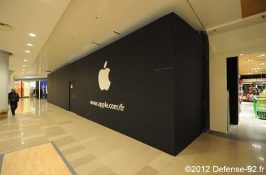 Apple Store ouvrira le vendredi 25 mai aux Quatre Temps