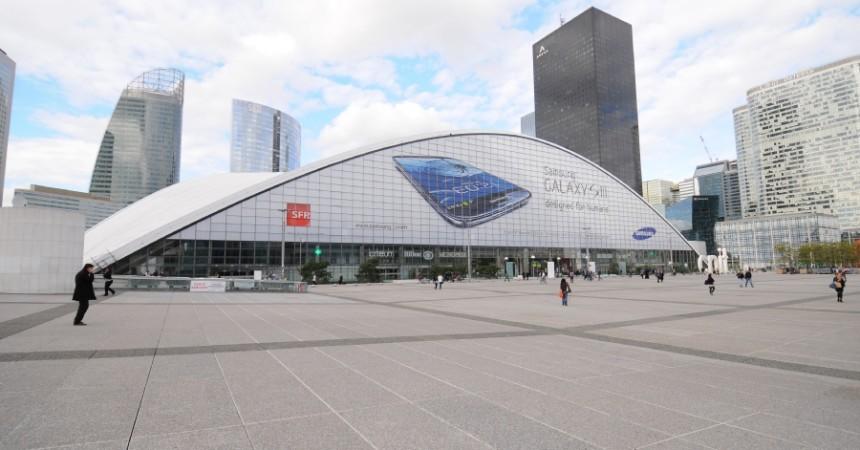 Samsung «se paye» le CNIT