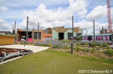 Inauguration du site de maintenance et de remisage du T2 à Colombes