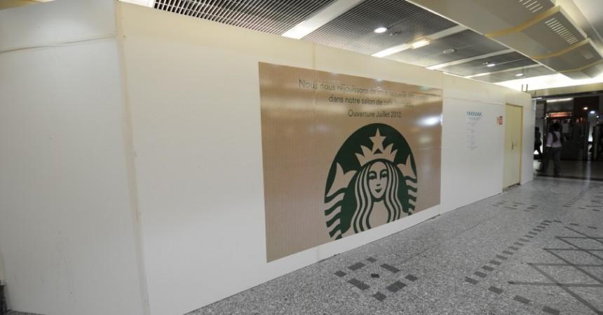 Starbucks ouvrira dans la gare Cœur Transport son salon à la fin du mois de juillet