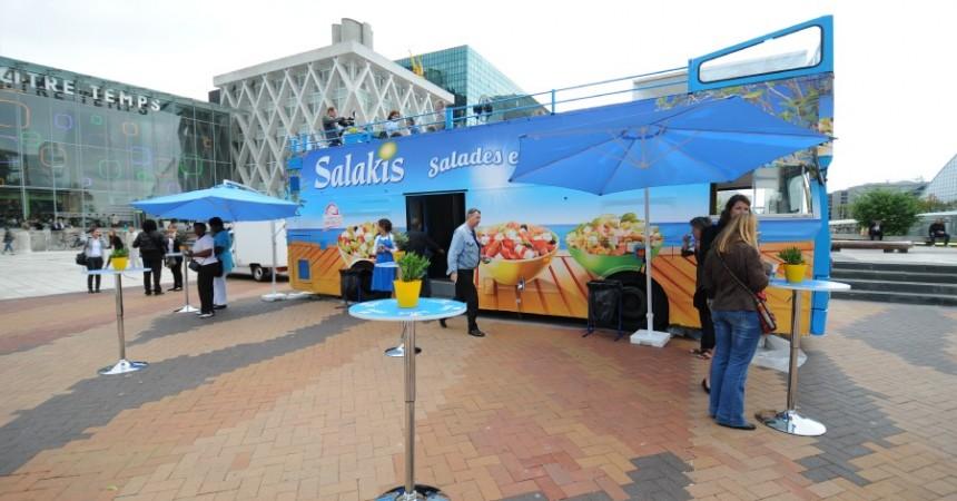 Le roadshow de Salakis fait escale à La Défense