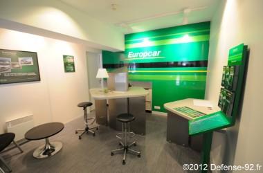 Europcar ouvre une agence au parking centre