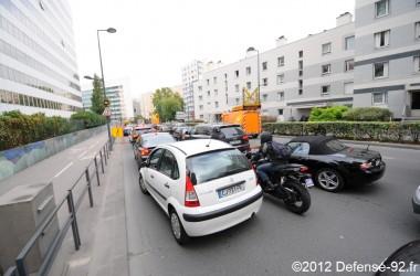 Des travaux sur le circulaire ont fortement perturbé le trafic
