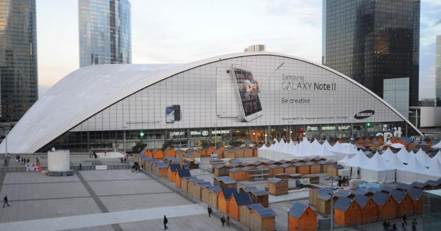 Samsung s'offre une nouvelle fois le CNIT