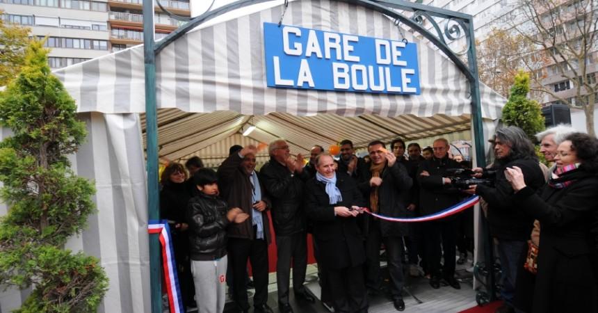 Nanterre inaugure symboliquement la station du Grand Paris Express «Nanterre – Place de La boule»