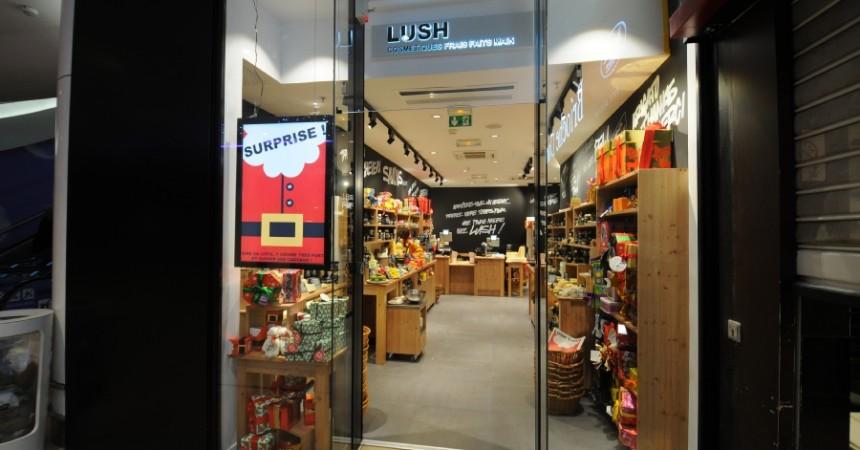 Lush : les produits de beauté artisanaux arrivent aux Quatre Temps
