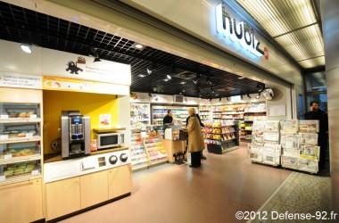 Un nouveau Hubiz ouvre à la station Esplanade de La Défense