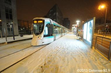 La neige continue à perturber les transports en commun