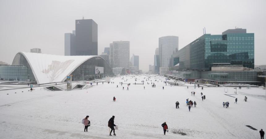 Neige à La Défense : Acte 2