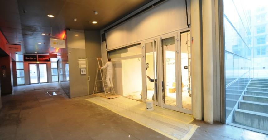 Francesca va succéder à Sushi Shop dans l'immeuble Passage de l'Arche