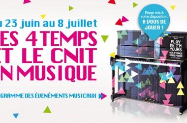 «Play me I'm Yours Des pianos dans Paris» débarque aux Quatre Temps et au CNIT