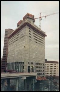 Construction de la tour Egée - ©Martinie