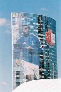 Publicité pour la Coupe du Monde de football 2002