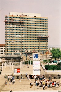 La construction de l'Hôtel Pullman - ©Jacques Shumman