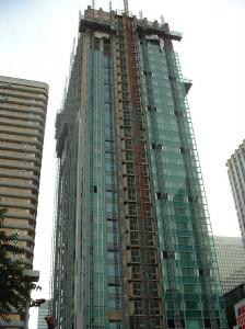La tour CB 16 en rénovation