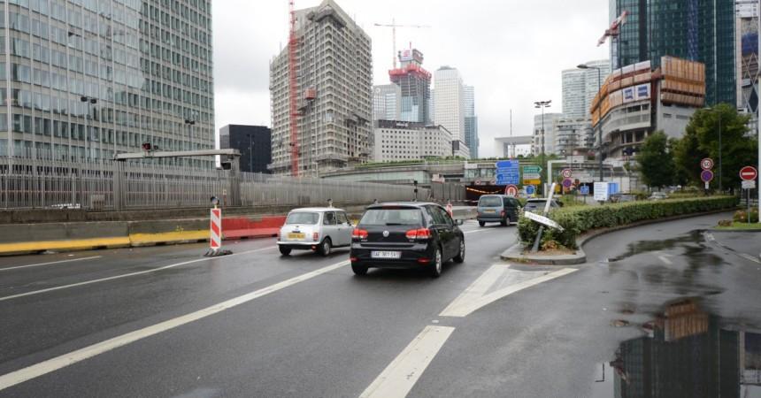 La fermeture du tunnel de l'A14 sous La Défense provoque pagaille et colère