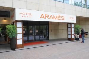Le faux hôtel Aramès - ©Defense-92.fr