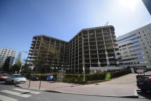 La rénovation de l'immeuble E+ le 14 avril 2015 - Defense-92.fr