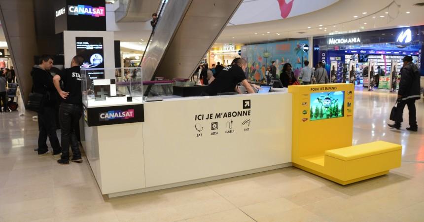 Canal + ouvre un pop-up store aux Quatre Temps