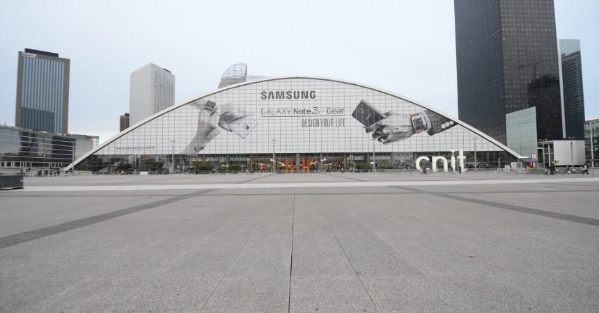 Samsung continue de priserle CNIT