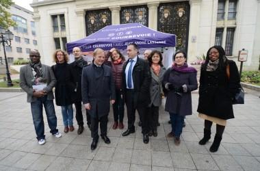 Jean-André Lasserre lance sa campagne municipale à Courbevoie
