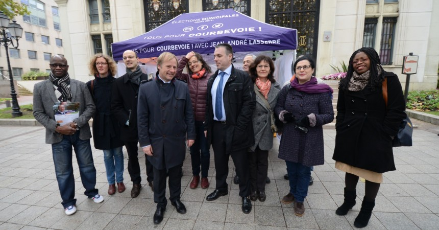 Jean-André Lasserre présente son programme pour Courbevoie et La Défense