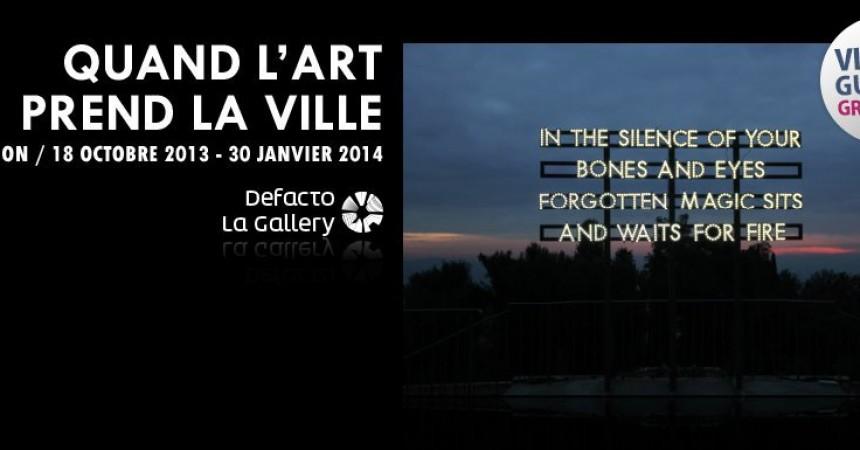 Quand l'art prend la ville : La nouvelle exposition de Defacto