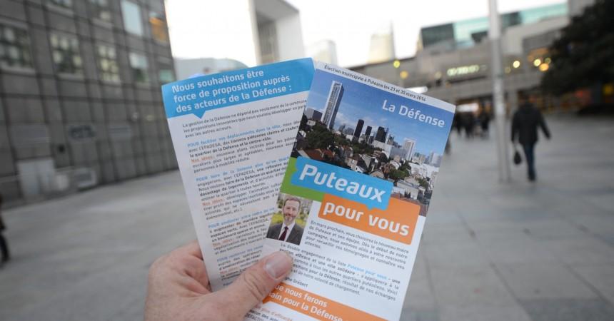 Municipales 2014 : Christophe Grebert dévoile son programme pour La Défense