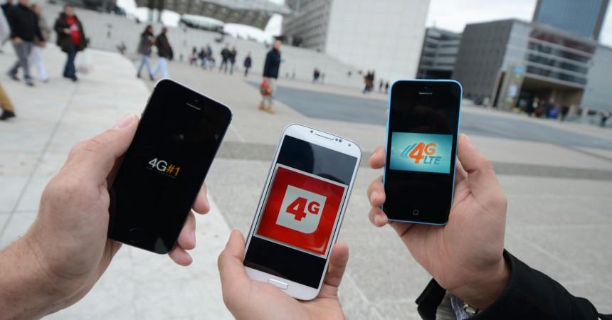 Nous avons testé la 4G à La Défense