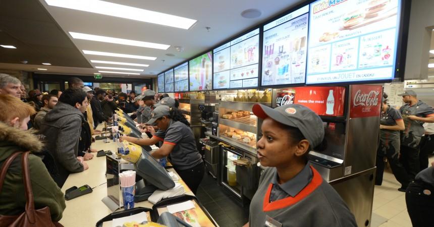 Burger King ouvrira t-il à La Défense?