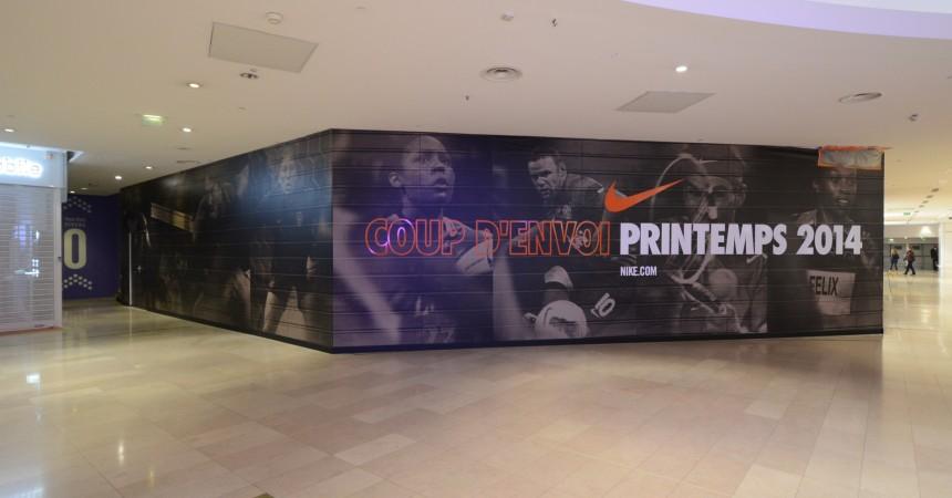 Nike arrive aux Quatre Temps au printemps prochain