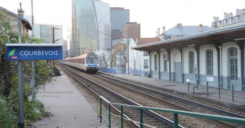 Travaux de maintenance sur la ligne L du Transilien