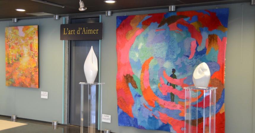 Une expo sur « L'art d'aimer » à l'Eglise Notre Dame de Pentecôte
