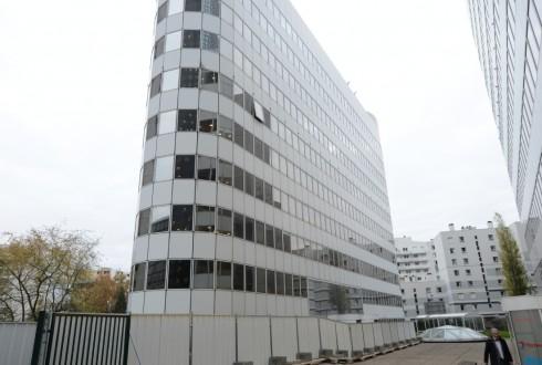 La rénovation de l'immeuble Ampère - Defense-92.fr