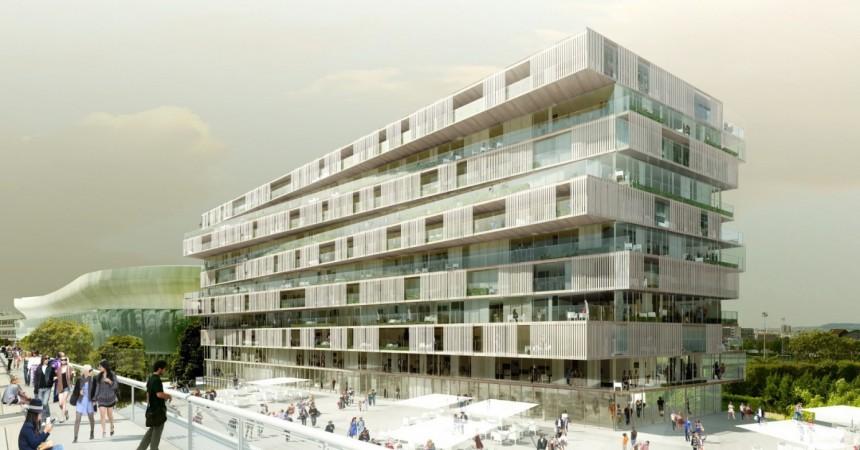Résidence One : Signature de l'acte de vente entre l'Epadesa et les Nouveaux Constructeurs