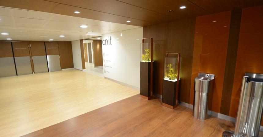 De nouvelles toilettes pour le CNIT