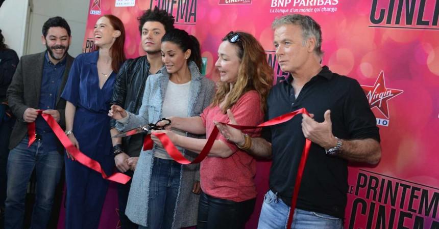 Des stars du cinéma pour lancer le Printemps du Cinéma à l'UGC des 4 Temps