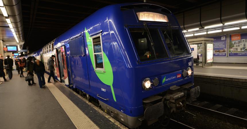Ce week-end les trains ne circuleront pas sur la ligne U du Transilien ainsi que sur la branche Versailles de la L