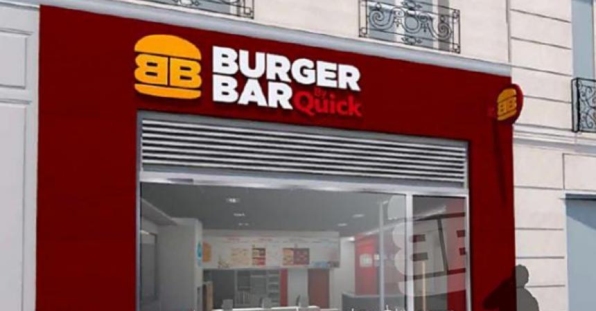 La nouvelle chaine «Burger Bar by Quick»: pas pour tout de suite à La Défense