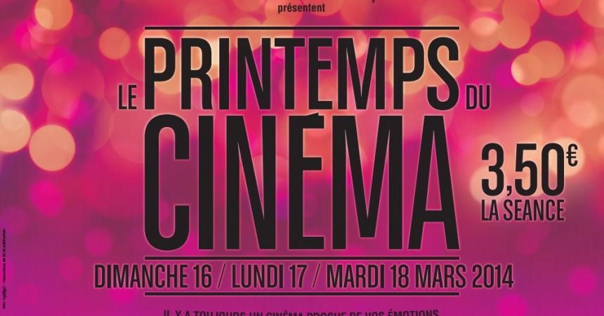 Printemps du cinéma, faites vous une séance pour 3,50 €